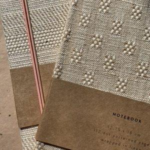 Monk & Anna linnen notitieboek S