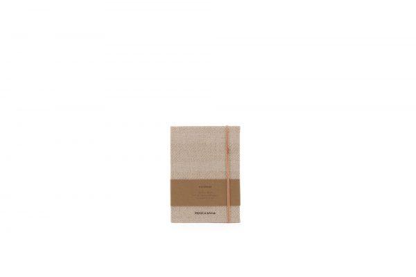 Monk & Anna linnen notitieboek S structured