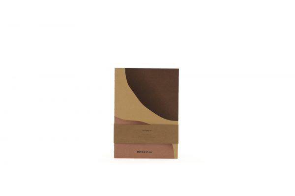 Monk & Anna Kraft notitieboek L Shapes