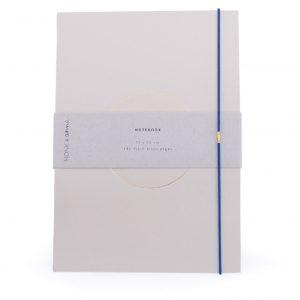 Monk & Anna notitieboek Sand met gouden cirkel
