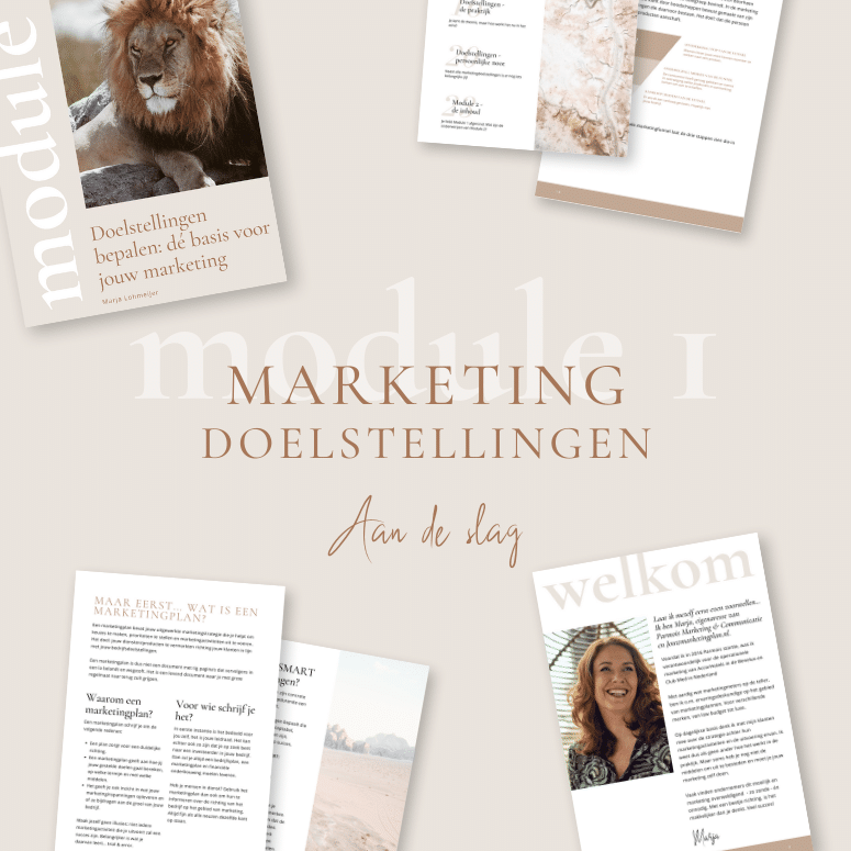 SMART marketingdoelstellingen bepalen Jouw marketingplan