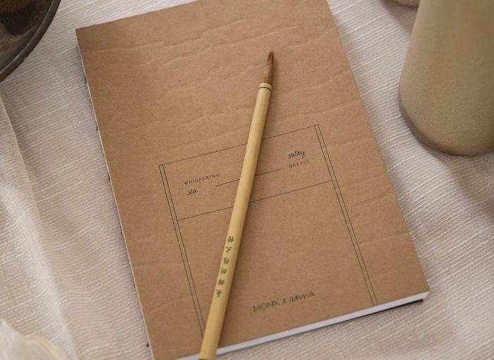 Monk & Anna Kraft notitieboek L